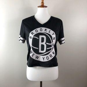 Brooklyn Nets Mesh Top
